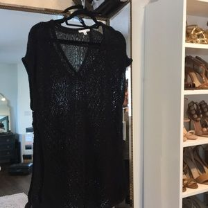 Roi Black Knit Tunic